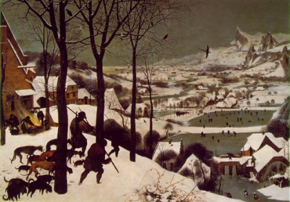 Pieter Bruegel - Hunters In The Snow
