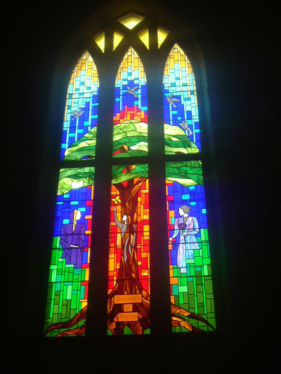 Stained Glass Window, St Silas Church