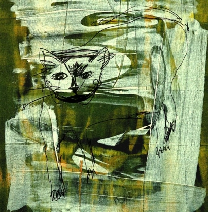 C Robin Janning - Dream Cat
